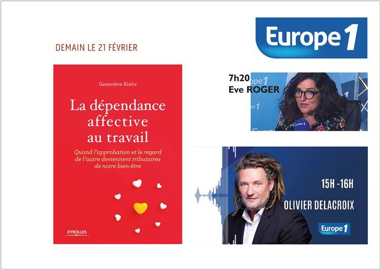 EUROPE 1 DEPENDANCE AFFECTIVE GENEVIEVE KREBS